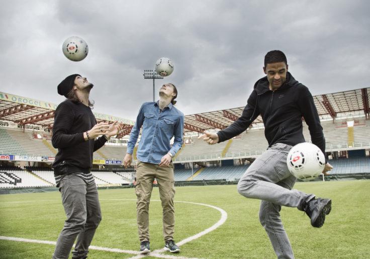 giocatori cesena calcio, stadio Dino Manuzzi, marzo 2015